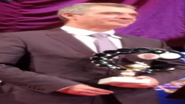 تكريم المفكر نبيل الصافي كافضل شخصية لعام 2019 في مجال الفكر