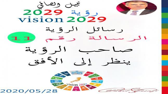 رؤية 2029 من أجل قيادة المجتمع نبيل الصافي رؤية 11