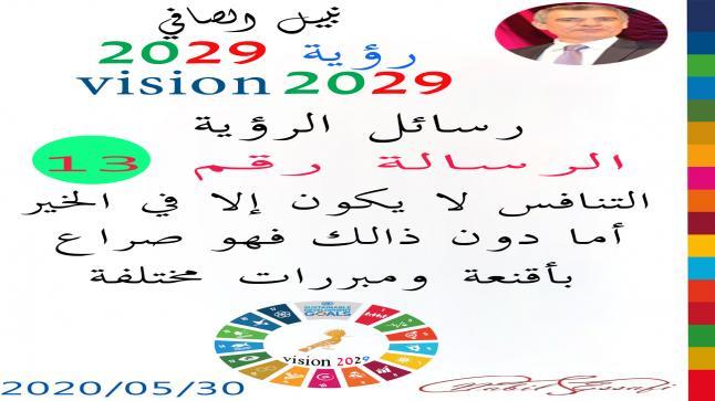 رؤية 2029 من أجل قيادة المجتمع نبيل الصافي رؤية 13