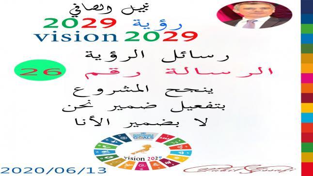 رؤية 2029 من أجل قيادة المجتمع نبيل الصافي رؤية 26