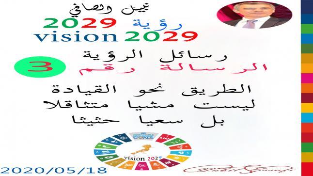 رؤية 2029 من أجل قيادة المجتمع نبيل الصافي رؤية 3