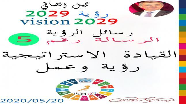 رؤية 2029 من أجل قيادة المجتمع نبيل الصافي رؤية 5