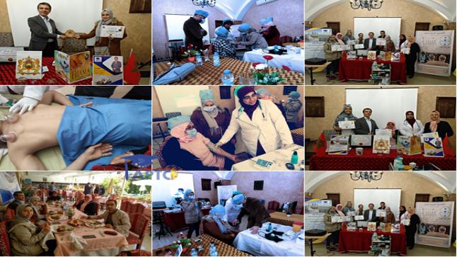 دورة تكوين ممارس متقدم في الحجامة الطبية في نسختها الأولى بمدينة الرباط تبصم على قمة الشراكة بين الأكاديمية الدولية للسلام للتدريب والاستشارات والجمعيات والمنظمات والمجتمع المدني