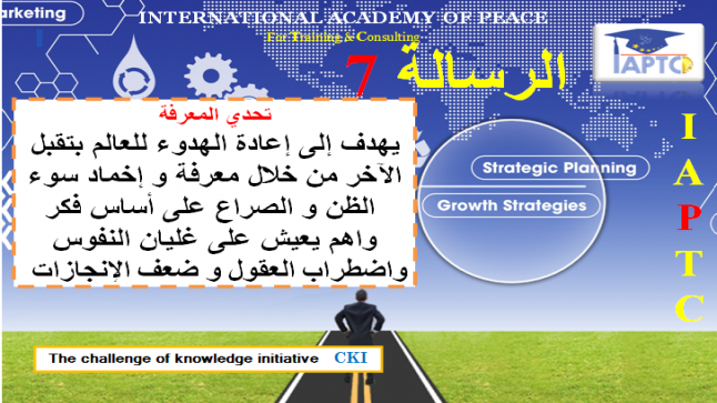 رسائل تحدي المعرفة الرسالة 7 #نبيل_الصافي_CKI