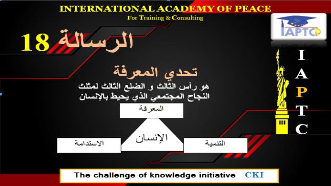 رسائل تحدي المعرفة الرسالة 18 #نبيل_الصافي_CKI